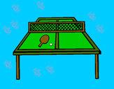 Disegno Ping pong pitturato su gabry73