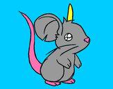 Disegno Piccolo topo pitturato su GABRIEL17
