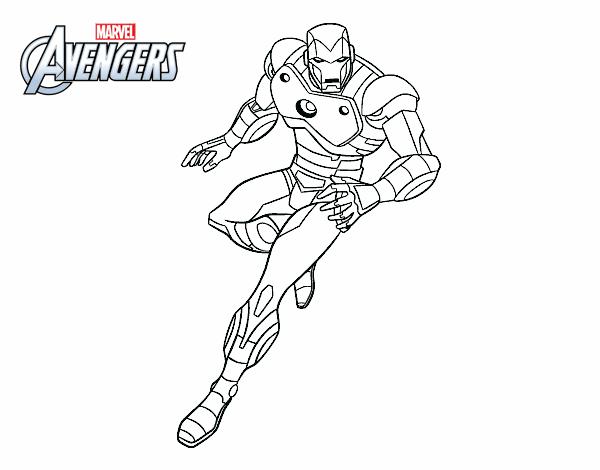 Disegno Vendicatori Iron Man Colorato Da Utente Non Registrato Il 18 Di Aprile Del 2015