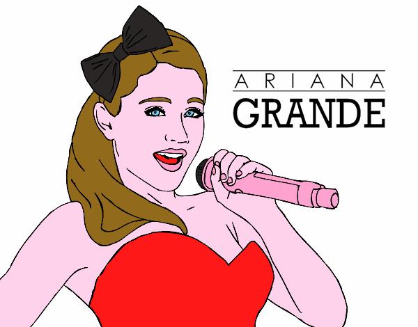 Disegno Ariana Grande Colorato Da Utente Non Registrato Il 13 Di
