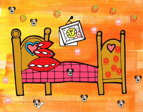 Disegni Da Colorare Armadio Di Chloe : Disegni camera da letto piccolo disegno camera da letto con