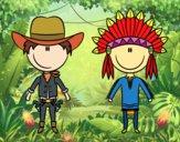 Cowboy e indiani contenuti