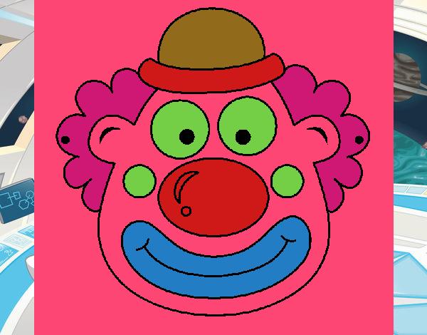 Disegno pagliaccio colorato da utente non registrato il 03 for Disegno pagliaccio colorato
