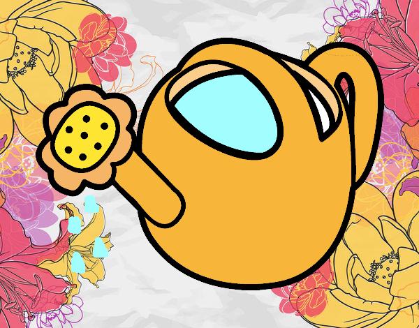 Disegno annaffiatoio colorato da utente non registrato il - Annaffiatoio da giardino ...