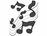 Note nella scala musicale