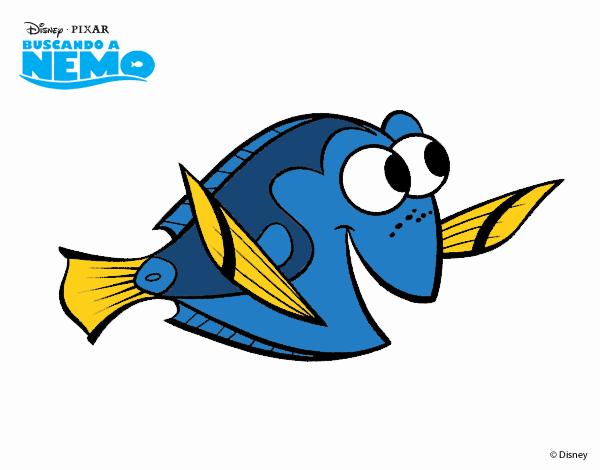 Disegno Alla Ricerca Di Nemo