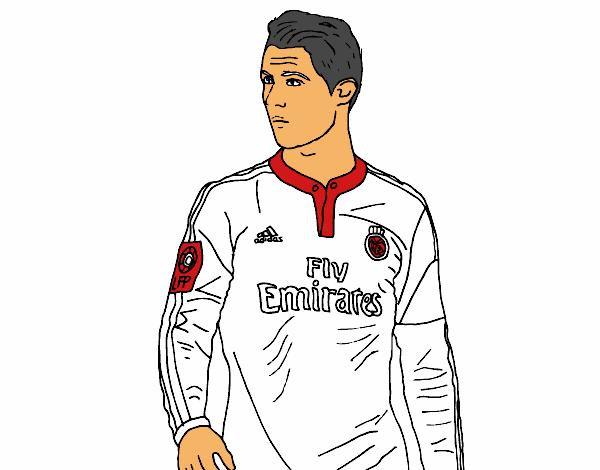 Disegno Cristiano Ronaldo Colorato Da Utente Non Registrato
