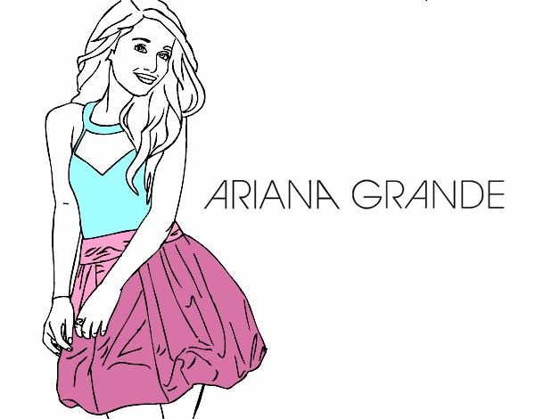 Disegno Ariana Grande Colorato Da Utente Non Registrato Il 10 Di