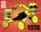 Big Hero 6 GoGo Tomago