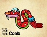 I giorni Aztechi: serpente Coatl