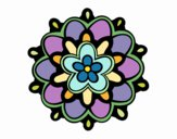 Mandala un fiore