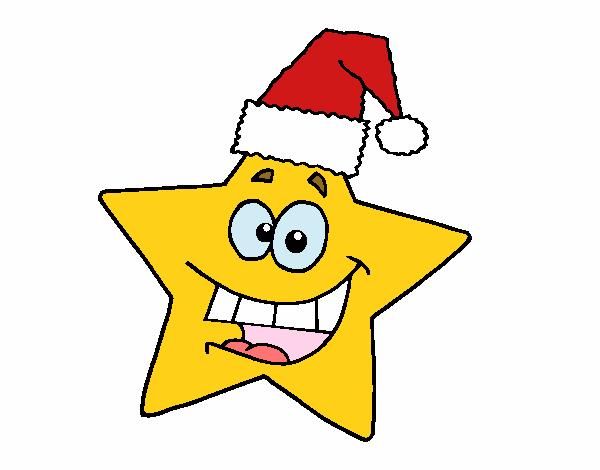Vestito Da Stella Di Natale.Disegno Stella Di Natale Colorato Da Utente Non Registrato Il 07 Di