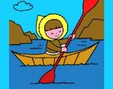 Canoa eschimese