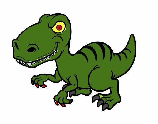 disegno dinosauro velociraptor colorato da utente non dino clip art free dino clipart vipkid