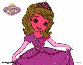 Sofia la principessa salutando