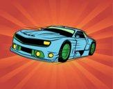 Auto sportiva veloce