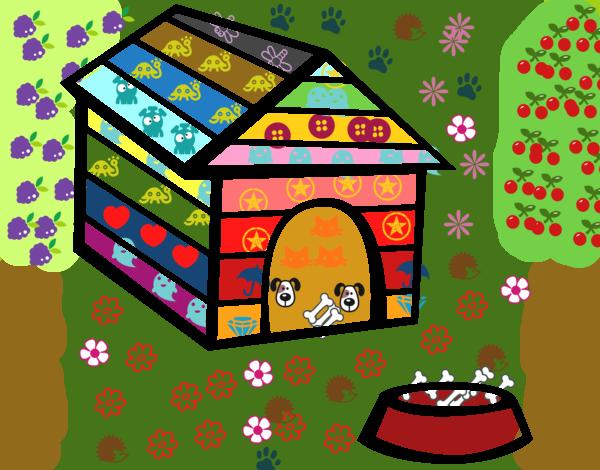 Disegno casa di cane colorato da utente non registrato il for Casa progetta il trotto del cane