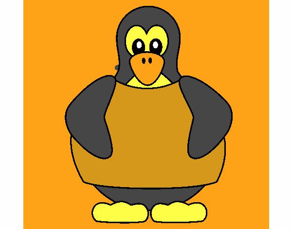 Disegno pinguino colorato da utente non registrato il 21 for Disegno pinguino colorato