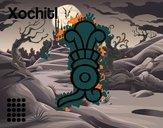 I giorni Aztechi: fiore Xochitl