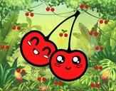 Due ciliegie