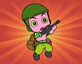 Soldato militare