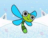 Una libellule