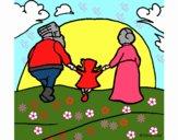 Disegno Cappuccetto rosso 20 pitturato su bb10