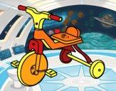 Triciclo di bambino