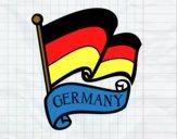 Disegno Bandiera della Germania pitturato su bb10