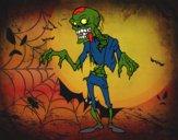 Disegno Un zombie pitturato su bb10