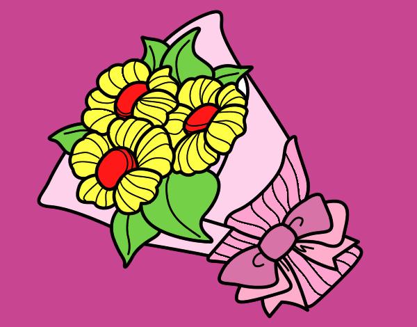 Disegno mazzo di margheritina colorato da utente non for Disegni del mazzo del cortile anteriore