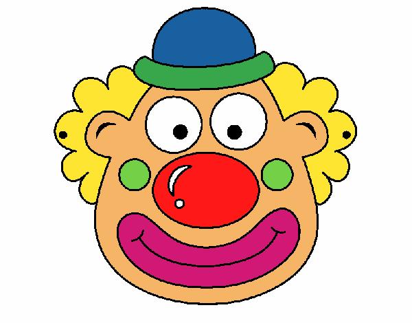 Disegno pagliaccio colorato da utente non registrato il 19 for Disegno pagliaccio colorato