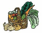 Cestino di verdure