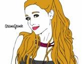 Ariana Grande con il collare