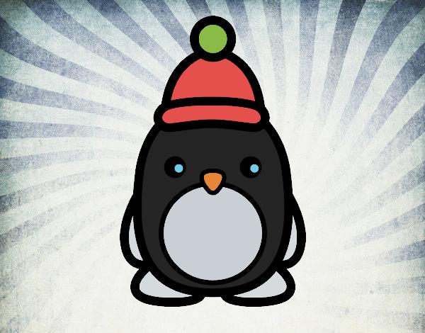 Disegno pinguino natalizia colorato da utente non for Disegno pinguino colorato