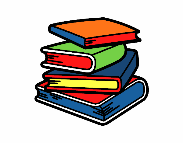 Disegno pila di libri colorato da utente non registrato il for Libri scuola