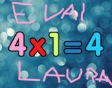 4 x 1