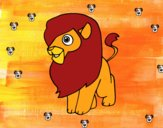 Un leone