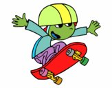 Bambino su skate