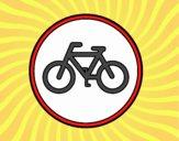 Strada riservata ai cicli