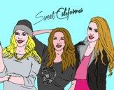 Disegno Alba Rocio e Sonia de Sweet California pitturato su alessia07