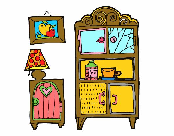 Disegno mobili soggiorno colorato da utente non registrato for Disegni mobili