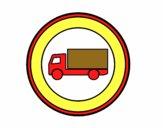 Vietato accesso ai veicoli per il trasporto di merci