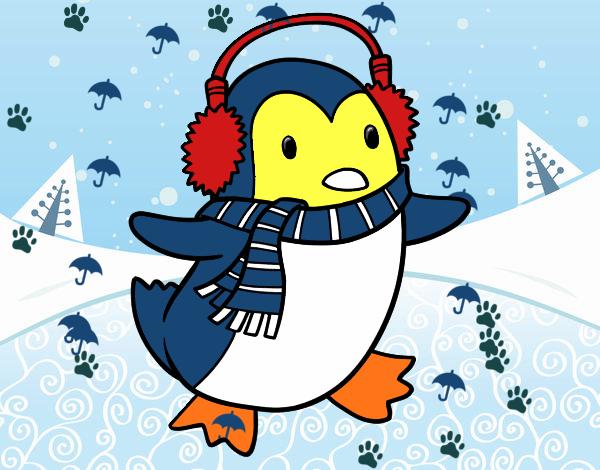 Disegno matteo pinguino colorato da utente non registrato for Disegno pinguino colorato