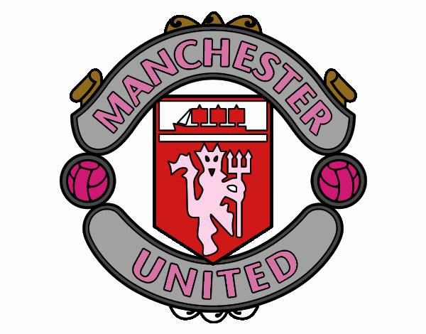 disegno stemma del manchester united fc colorato da utente non registrato il 25 di ottobre del 2016 galleria acolore com
