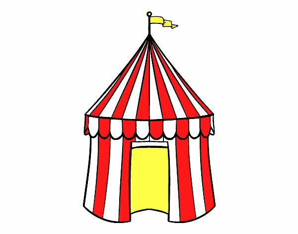 Disegno Tenda De Circo Colorato Da Utente Non Registrato Il 10 Di