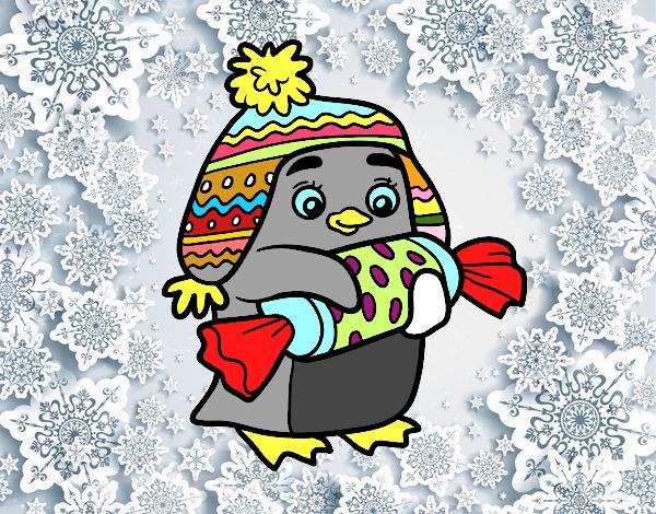 Disegno pinguino con caramello colorato da utente non for Disegno pinguino colorato
