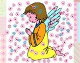 Angelo che prega