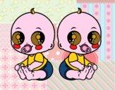 Bambini gemelle