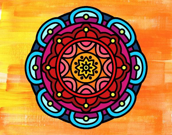 Mandala per il rilassamento mentale